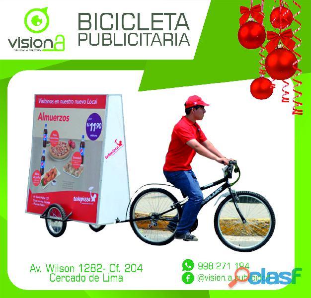 Bicicleta publicitaria