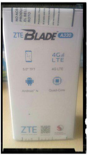 Celular zte blade a320,4g,liberado nuevo