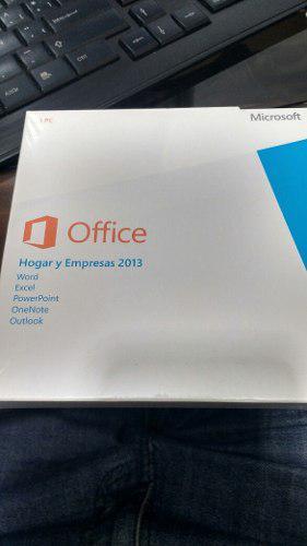Microsoft office hogar y empresas 2013