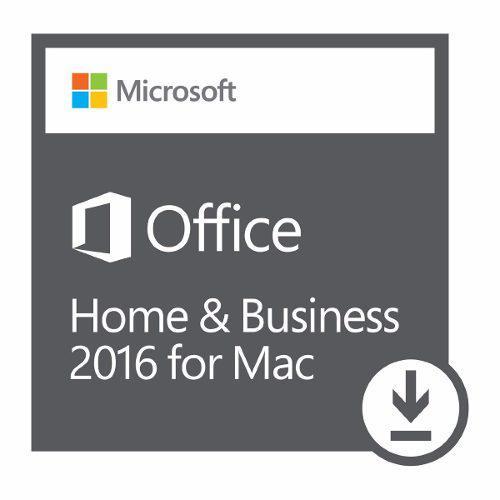 Microsoft office hogar y empresas 2016 para mac - licencia