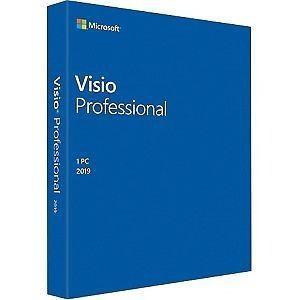 Microsoft visio professional 2019 - licencia - 1 pc