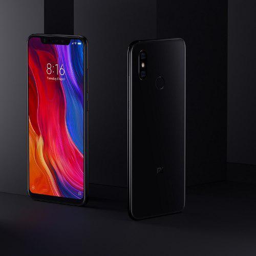 Xiaomi mi8 negro 6/64 versión global + cristal stock real.