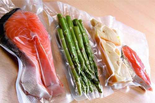 Bolsas para alimentos empacado al vacio 13x20 cm 100 und