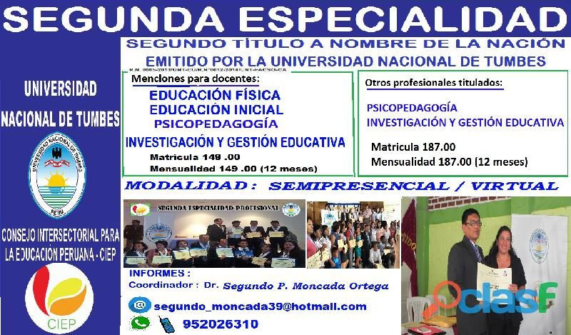 2 especialidad para docentes