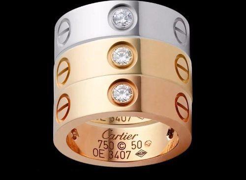 239a668ac7b8 Exclusivas joyas cartier- tiitanium steel y oro 18k! en Lima ...