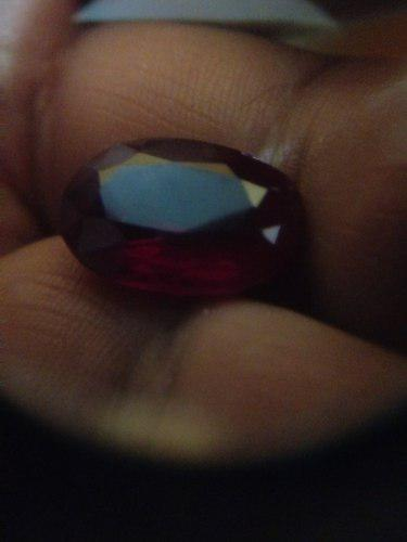 Piedra rubí rojo ggl 15.35 ct certificado gg756150b4257l