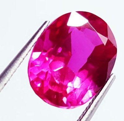 Piedra zafiro rosa 12.12 ct. certificado gg/l4260/ s5449