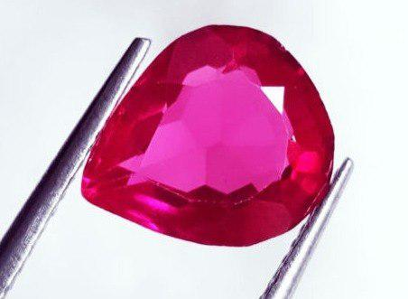 Piedra zafiro rosa 4.04 ct certificado gg/l4260/r4122