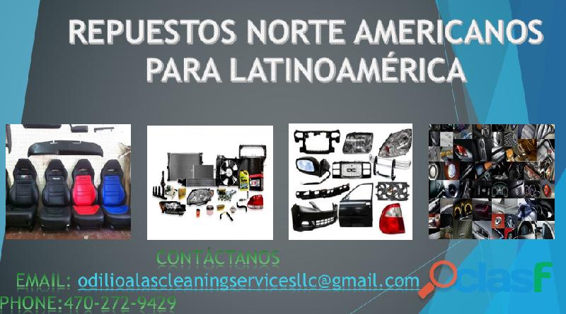 Importadora de repuestos (para latinoamerica)