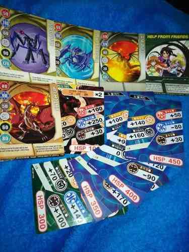 Bakugan cartas (originales!)