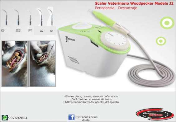 Scaler dental veterinario woodpecker j2 en Lima