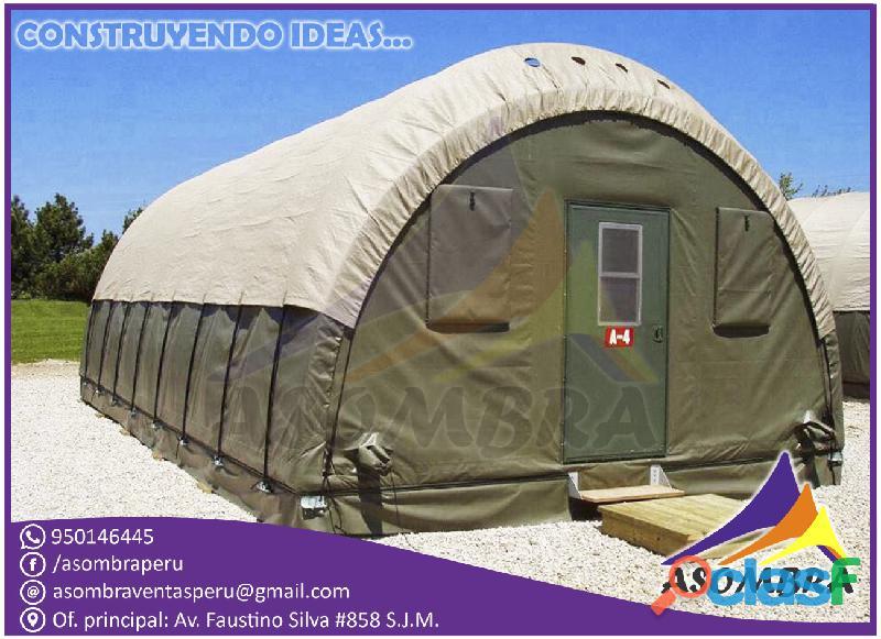 Campamentos mineros y desarmables / asombra peru