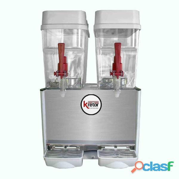 Dispensador de refrescos de dos tolvas rmc 18x2