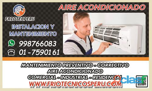 Los autorizados de aire acondicionado!! servicio técnico de aire acondicionado. 7590161 ate