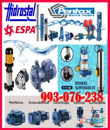 Servicio de reparación de bombas de agua hidrostal