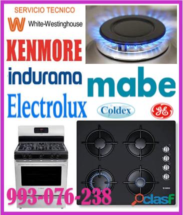 Servicio de reparaciones de cocinas a gas kenmore 993 076 238