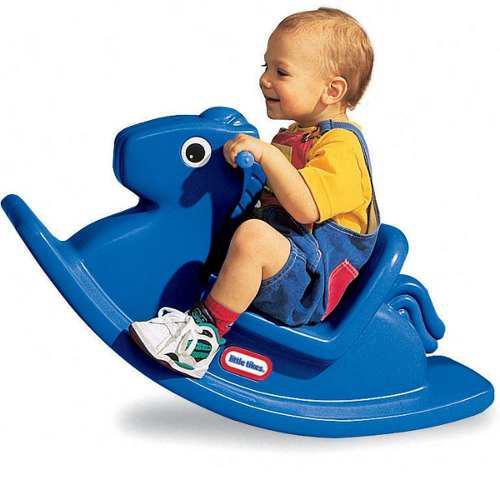 Balancin rocking horse azul - little tikes
