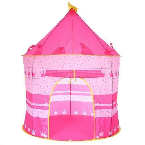 Casa castillo carpa armable para niñas