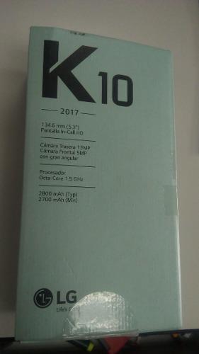 Celular Lg K10 4glte 16gb 13mpx/8mpx Nuevo