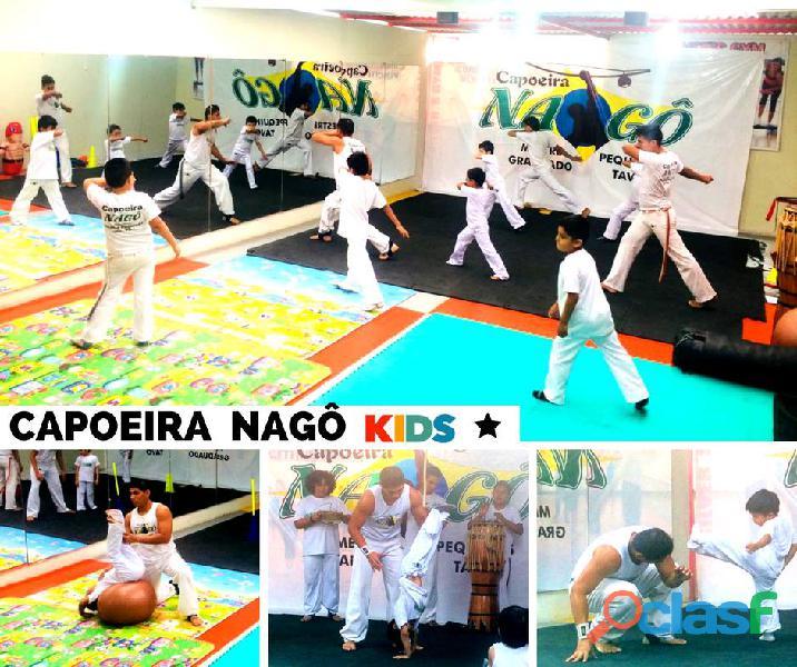 Clases de capoeira para niños taller de verano 2019