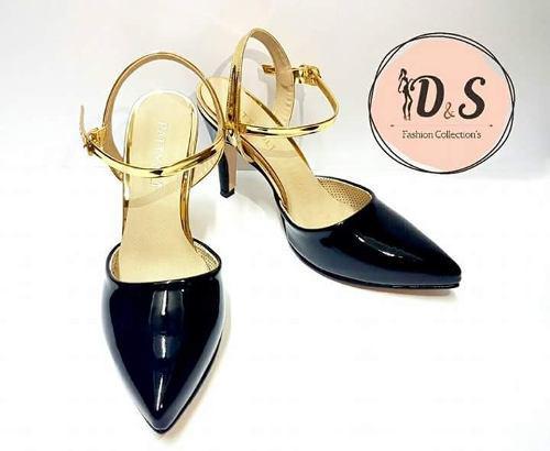 Moda mujer, zapato femenino, calzado negro