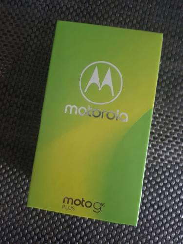 Motorola Moto G6 Plus 64 Gb - 4 Ram / Nuevo En Caja