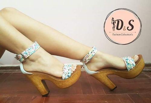 Zapato con plataforma, moda mujer, calzado femenino