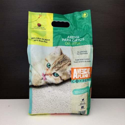 Arena De Gato Animal Planet 10 K Solo Recojo En Veterinaria