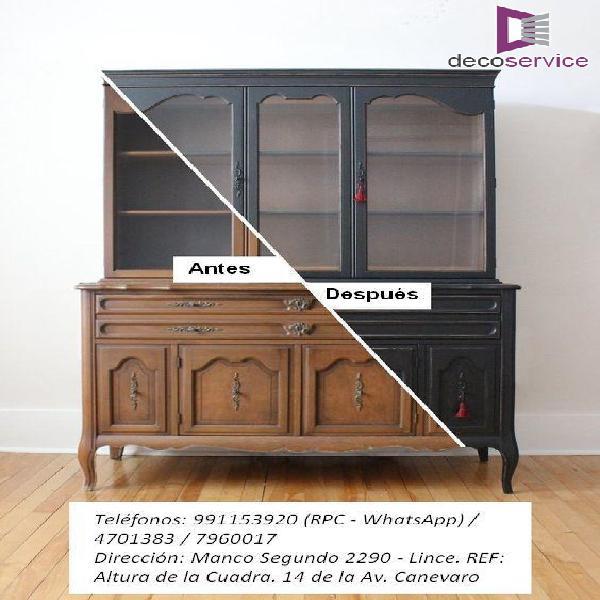 Decoservice restauración de muebles de estilo en lima