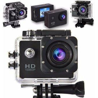 Camara deporte full hd 1080p pantalla 2 inch acuatico gopro