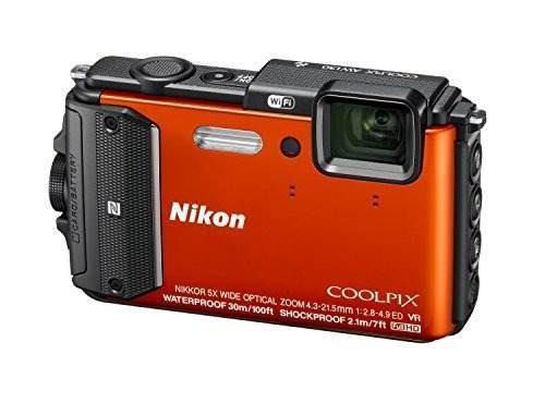 Nikon coolpix aw130 amplificador de choque; impermeable gps
