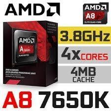 PROCESADOR (APU) AMD A8-7650K, usado segunda mano  Lima (Lima)