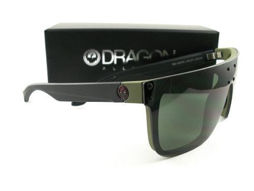 9691fed6b8 Dragon ds2 matte black/green lentes de sol autenticos