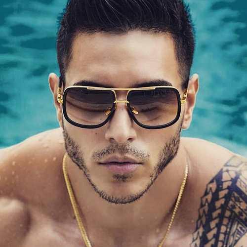 562a226119 Gafas de sol hombres / lentes de sol hombres cuadrado