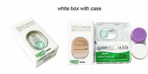 d61056bdc3f20 Lentes de contacto freshtone + porta lentes! 100% originales