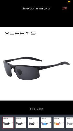 f8d351ba27 Lentes de sol polarizado uv400 merry's original gafas hombre
