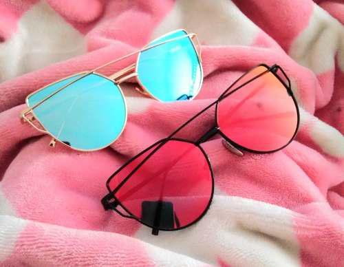 48635f81b9 Lentes gafas de sol mujer espejo cat eye colores iscute