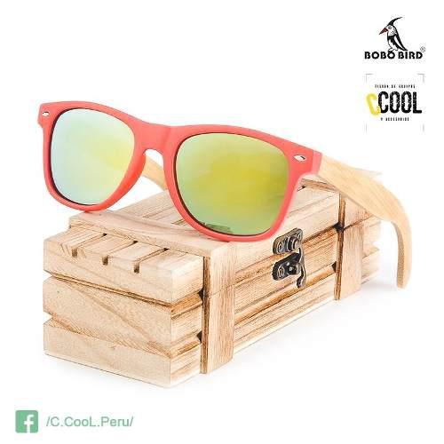 8920640fd2 Lentes polarizados madera bambu bobo bird mujer protec uv