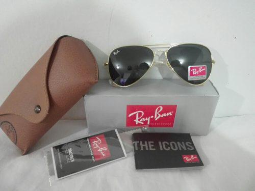 c92043922db6c Lentes ray ban modelo rb 3025 aviator made in italy