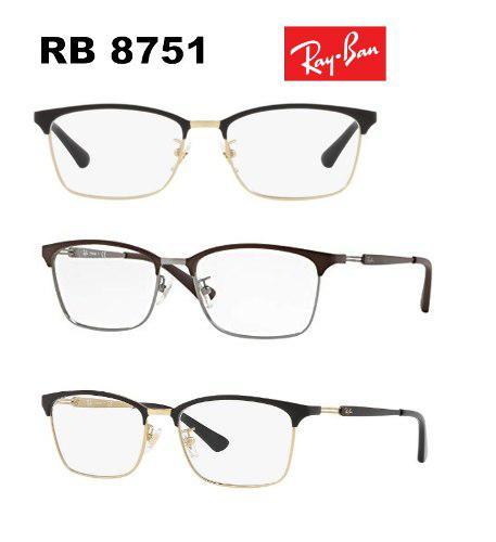 cef6df40b3 Montura rayban 5491 8751 6281 made in italy, somos optica