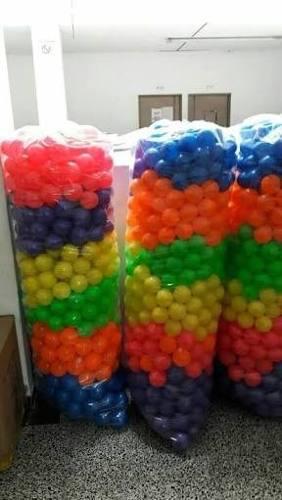 36e790882 Pelotas plasticas para piscina de 7 y 10cms millar y ciento