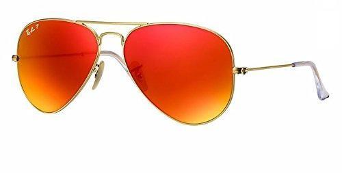 65eb1c7d84 Ray ban rb3025 polarized metal aviator sunglasses aviator