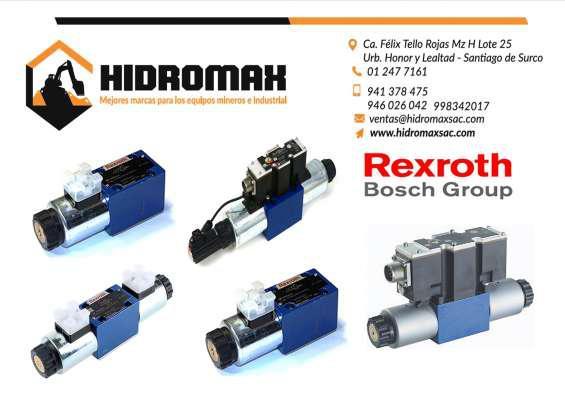Valvulas hidraulicas rexroth en lima