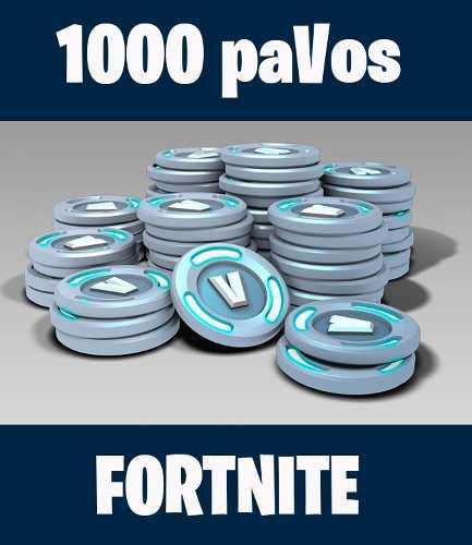 1000 Pavos Para Fortnite