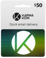 De Mrcargas $50 Karma Koin Gift Card