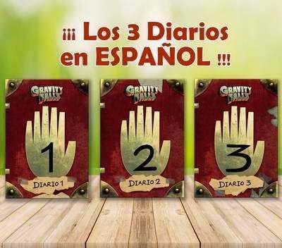 Diarios 1,2 Y 3 Gravity Falls En Español + Temporadas +