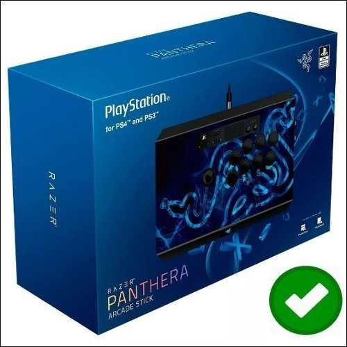 Mando para juegos arcade stick razer panthera ps3/ ps4, pc