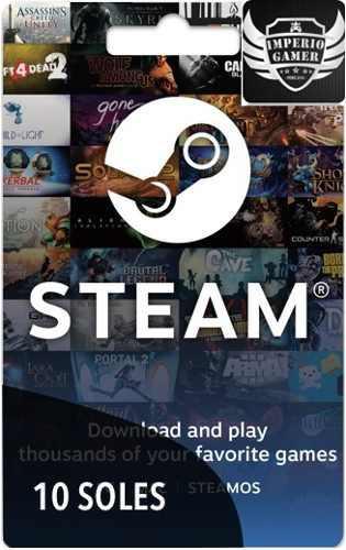 Steam Gift Card De 10 Soles Y Tambien Hay De Mas Precios!!