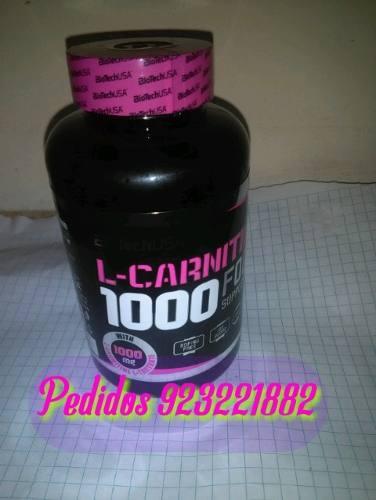 L- Carnitina 1000 Caps 60 Marca Biotech