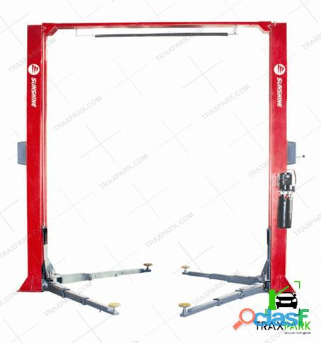 Elevador para autos hidráulico manual 35a para talleres mecanicos